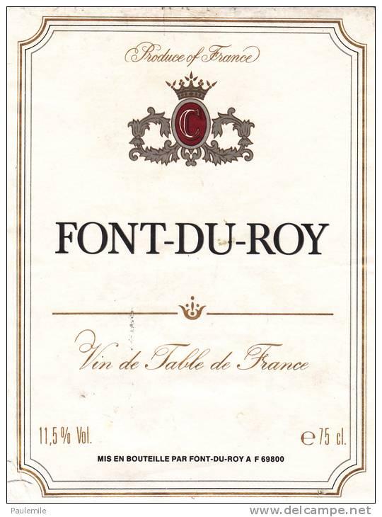 vin de table de france