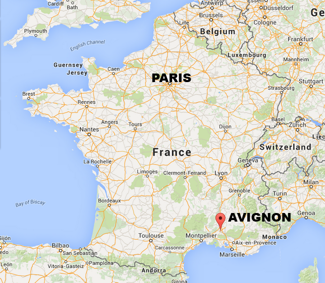 28 Avignon France Map Avignon Avignon Pinterest Cheap